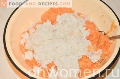 Fleischbällchen mit Gemüse im Ofen