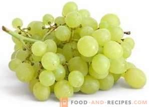 Kalorien der Weintrauben
