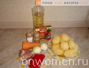 Schweinebraten mit Kartoffeln