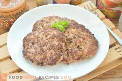 Buletten für Rindfleischburger