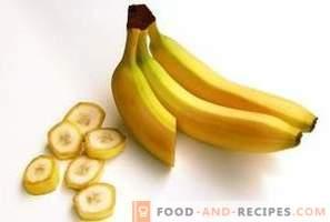 Bananen: Nutzen und Schaden für den Körper