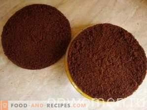 Schokoladen Biskuitkuchen