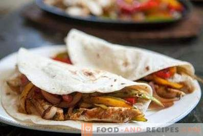Chicken Fajitos