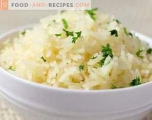 Оризови калории