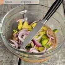 Magerer Avocado-Salat