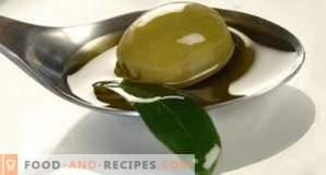 Kaloriengehalt von Olivenöl