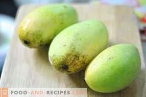Wie wird Mango aufbewahrt?