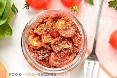 Sonnengetrocknete Tomaten zu Hause