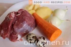 Rindfleisch Frikadelle Suppe
