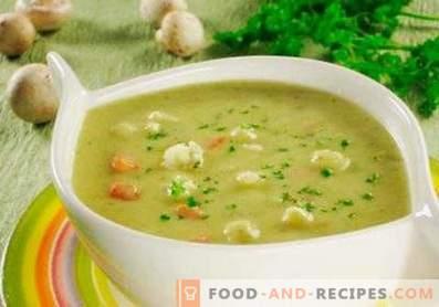 Zucchini-Blumenkohl-Cremesuppe