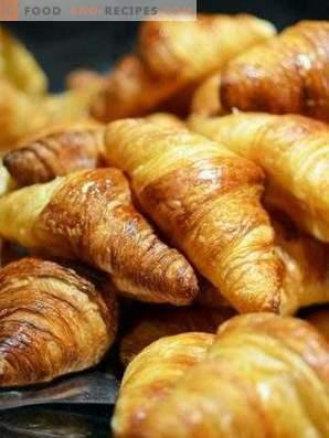 Croissants zu Hause
