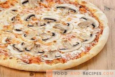 Champignon-Pizza