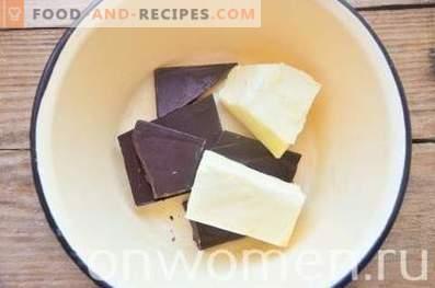 Brownies mit Kirschen und Quark