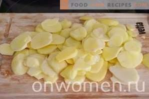 Gebackener Kartoffeltterpug