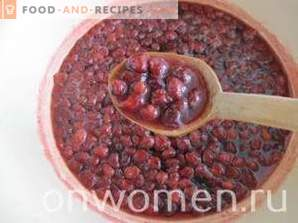 Fünf Minuten Erdbeermarmelade