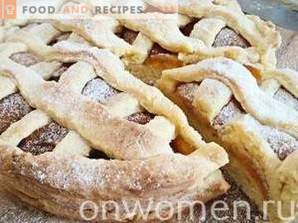 Gâteau de sable aux abricots