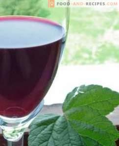Wein der Schwarzen Johannisbeere