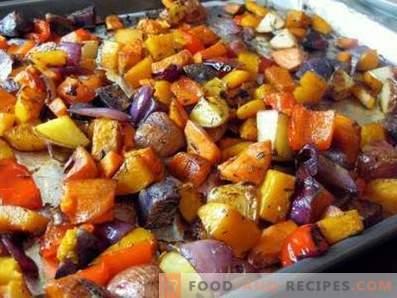 Stufato di verdure nel forno