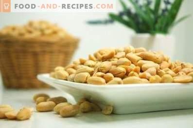 Wie man Erdnüsse in der Mikrowelle brät
