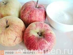 Apfelkompott für den Winter
