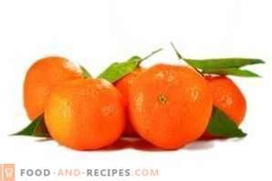 Wie werden Mandarinen aufbewahrt?