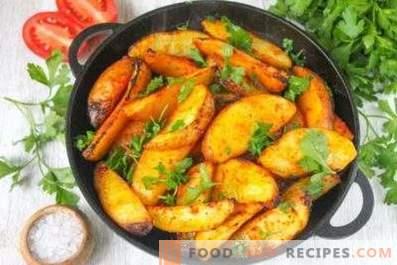 Bei welcher Temperatur sollen die Kartoffeln gebacken werden
