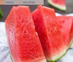 Kalorien der Wassermelone