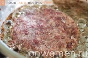 brise de viande hachée