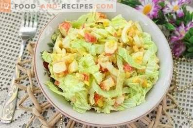 Salate für das neue Jahr