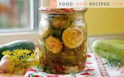 Gebratene Zucchini für den Winter