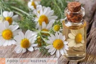 Kamillenöl: Eigenschaften und Anwendungen