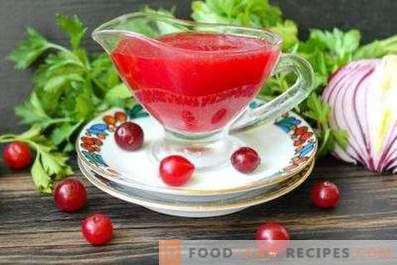 Cranberry-Fleischsauce