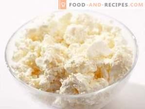 Wie Hüttenkäse aus Milch herzustellen