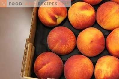 Wie Pfirsiche aufzubewahren
