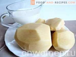 Kartoffelpüree mit Milch