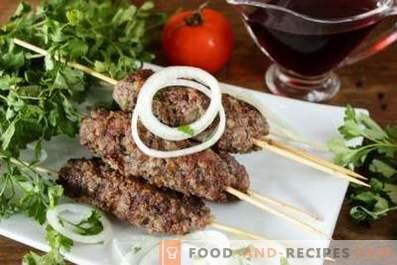 Kebab in der Pfanne