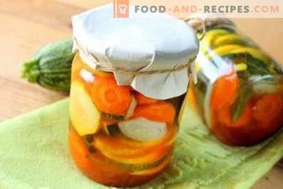 Zucchini mit Chile-Ketchup für den Winter