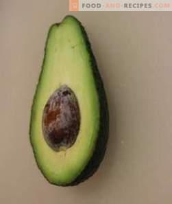 Калории за авокадо