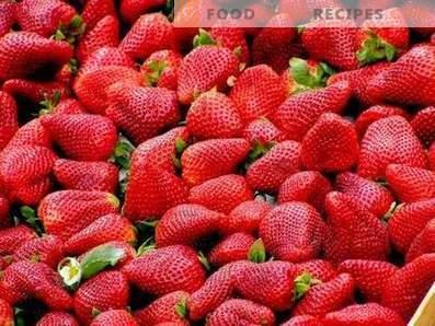Lagerung von Erdbeeren