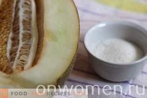 Melonenmarmelade für den Winter