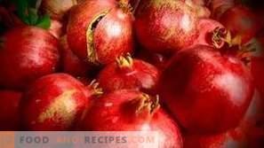 Wie Granatapfel lagern