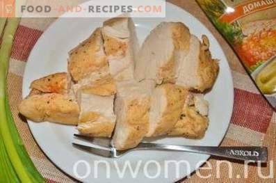 Hühnchen in Gewürzen und Senf in der Packung