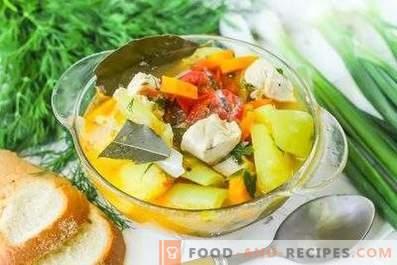 Gemüseeintopf mit Hähnchenfilet