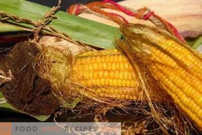 Lagerung von Mais