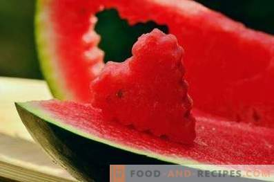 Watermelon: health benefits and harm