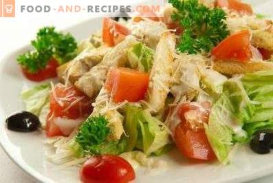Caesar-Salat mit Chinakohl