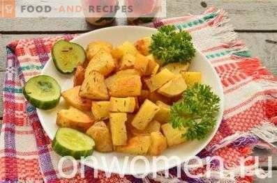 Neue Kartoffeln im Ofen