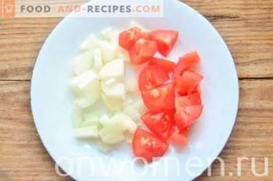 Pilzsauce mit Tomaten und Oliven