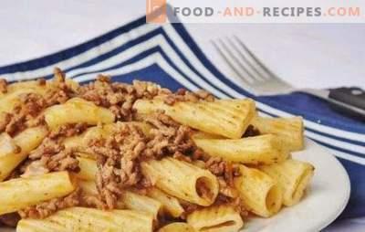 Was unterscheidet die Marineteigwaren von einfachen Pasta mit Fleisch?