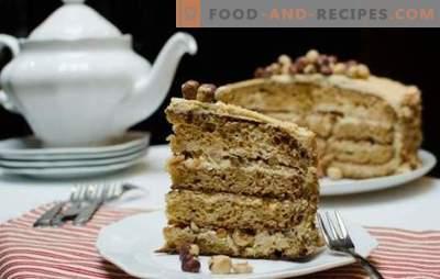 Golden Key Cake - ein zarter cremiger Geschmack! Einen Kuchen